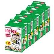 FujiFilm Mini Instax Film ขอบขาว 10 x 10 แพ็คสุดคุ้ม! Free! Mini Instax Album Little Town