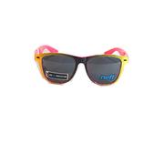 แว่นกันแดด Neff Daily Shades Color: Black/Yellow/Pink