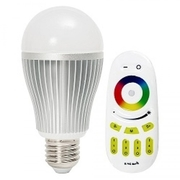 RGBCW101: iLightPlus ชุดหลอดไฟ LED รุ่น Rainbow Cool - 1 หลอด พร้อมรีโมท