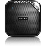 Philips Wireless Portable Speaker BT2500B (Black)