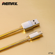 Remax แท้100% Cable Charger 1M สำหรับ Android สีทอง