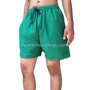 กางเกงขาสั้นชาย กางเกงสะท้อนแสง เขียวเข้ม