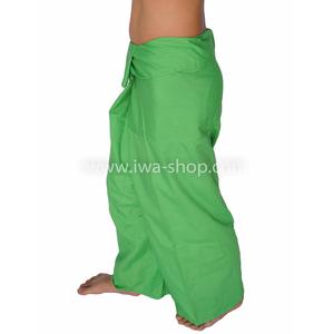 กางเกงเล กางเกงชายหาด ผ้าโทเร สีเขียวอ่อน