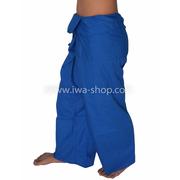 กางเกงเล กางเกงชายหาด ผ้าโทเร สีน้ำเงิน