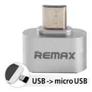 OTG Adapter Remax RA-OTG USB -Sliver