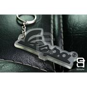 พวงกุญแจ Vespa สีดำ