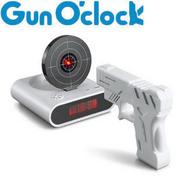 นาฬิกาปลุกด้วยปืน (ขาว) (EA002)