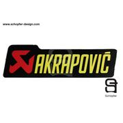 Sticker ท่อ Akrapovic