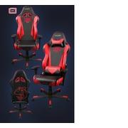 เก้าอี้สำนักงานรถแต่ง DX RACER ขั้นเทพ ( ED006 ) สีแดง