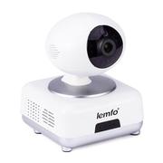 LEMFO CN-PT100E WIfi IP camera Pan Tilt 1.0MP IR Night Vision P2P Intercom Audio 3D Voice engine technology Onvif