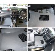 พรมปูพื้นรถยนต์ 5 D รุ่น ALL NEW YARIS 2013 สีเทา