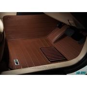 พรมปูพื้นรถยนต์ 5D รุ่น NEW CAMRY 2012-15 PVC Leather สีน้ำตาล