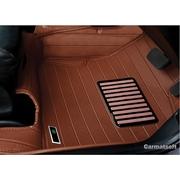 พรมปูพื้นรถยนต์ 5D รุ่น CITY 2008-2013 PVC Leather สีน้ำตาล