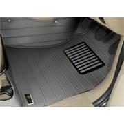 พรมปูพื้นรถยนต์ 5D รุ่น VIGO 4 D PVC Leather สีเทา