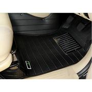 พรมปูพื้นรถยนต์ 5D รุ่น FORTUNER Leather สีดำ เข้ารูป 100%