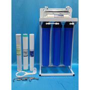 เครื่องกรองน้ำ 5 ขั้นตอน 20 นิ้ว UF+UV+ขาตั้ง โครงเหล็ก สินค้านำเข้าจากไต้หวันไส้กรองผ่านมาตรฐาน NSF