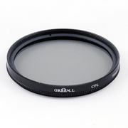 Green L CPL circular polarizer filter 58mm
