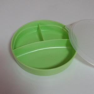 Tupperware kids lunch box 350ml. green