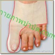 Healtoe บำบัดนิ้วเท้าคด แบบสวมใส่รองเท้าได้ > SIZE:M (เบอร์รองเท้า 37-39.5) ด้านซ้าย