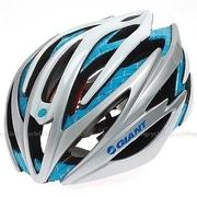 ขายปลีก-ส่ง Giant Cycling Helmet Road Bike MTB Helmet Size L/XL 58cm-62cm Q8 Silver Blue,หมวกกันน็อคสำหรับนักปั่นจักรยาน เสือ ภูเขา ราคาถูก,(ราคาหน้าเ