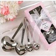 ขายส่ง ช้อนบุญงานแต่งงานรูปหัวใจของขวัญ / ของที่ระลึกสำหรับ 12ชุด ล็อตแถมอุปกรณ์ตกแต่งงานแต่งงาน,ของขวัญ,ของชําร่วย,ของงานแต่งงาน(ขายส่งจำนวน 10ชุดขึ้
