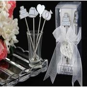 ขายส่ง ของที่ระลึก งานแต่งงานที่สร้างสรรค์ 12ชุด / ล็อต ส้อมจิ้มผลไม้ตลกปีใหม่ของขวัญงานแต่งงานคนและเหตุการณ์ตกแต่ง,ของขวัญ,ของชําร่วย,ของงานแต่งงาน(ข