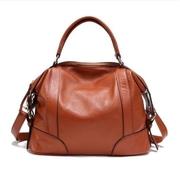 ขายปลีก-ส่ง กระเป๋าหนังวัวแท้ใหม่ร้อนและผู้หญิงแฟชั่นกระเป๋าถือสตรีกระเป๋า messenger tote กระเป๋าสะพาย bolsas femininas ธรรมชาติ,ผู้หญิง แฟชั่น สไตล์ใ