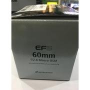 Lens Canon 60 f2.8 Macro USM