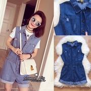 Normal Ally Present Denim fashion bib summer collection