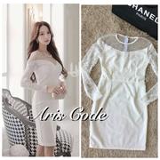 Sweet lace lady dress