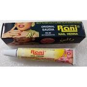 Rani Nail Henna Original Saudia เฮนน่าเพ้นท์เล็บ นิ้วมือสีแดงชนิดหลอดพลาสติก