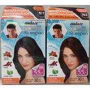 audace Color Shampoo ออด๊าซแชมพูปิดผมขาวปราศจากแอมโมเนีย > N1 สีดำธรรมชาติ
