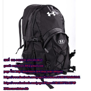 B-007 Under Armour Large Backpack กระเป๋าunder armour Sports bag Gym Bags กระเป๋าฟิตเนส กีฬา เดินป่า