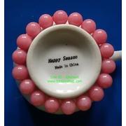 สร้อยข้อมือพิงค์โอปอล (Pink Opal) หินนำโชคหินมงคลด้านความรัก ความโรเมนติค ราคาถูก