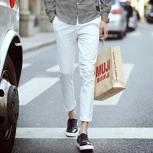 กางเกงขายาว ผู้ชาย > สีขาว