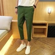 กางเกงขายาว ผู้ชาย > สีเขียว