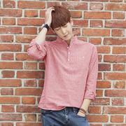 เสื้อเชิ๊ต > สีชมพู