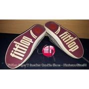 3e17f0789bf1 รองเท้า FitFlop Super T Sneaker Crackle Shoes - Platinum  มือ2-ของ ...