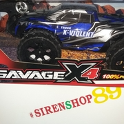 รถบังคับบิ๊กฟุต 4WD.SAVAGE X4