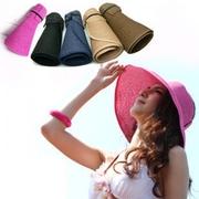 หมวกปีกกันแดด พับเก็บได้ เหมาะกับการเดินทางสุดๆ ซักล้างได้ มีหลายสีจ้ะ