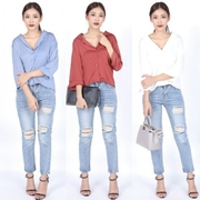 Dress me...Luxe Scallop Blouse