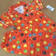 ชุดนอนเด็กผ้ายืดลายหมีสีส้ม > 3ขวบ