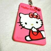ที่ใส่บัตรพนักงานห้อยคอ kitty