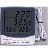 Thermometer เครื่องวัดอุณหภูมิ 2 จุดและความชื้นรุ่น HY303C