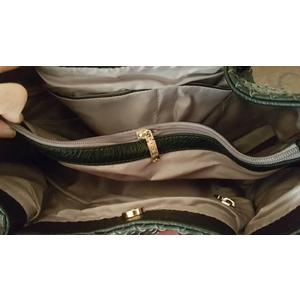 (พร้อมส่ง) กระเป๋าสะพาย Beibaobao หนังสีดำ หนังแบบสาน ทรง shopping bag ใบใหญ่ จุขุองได้เยอะค่ะ
