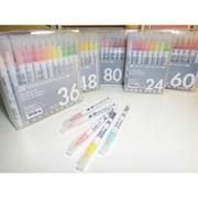 Zig real brush แบบพร้อมแพคเกจ > Set 36 สี
