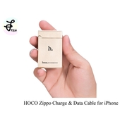 |Hoco|สายชาร์จแบบ Zippo Charge&Data Cable for Iphone
