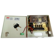 NKE 4 Channels 12V DC Regulated Distributed Power Supply panel individually fused 5 AMP Total Output