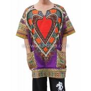 เสื้อจังโก้ ลายหัวใจ จังโก้หัวใจ ม่วง