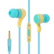 หูฟังสเตอริโอ สีฟ้า KeeKa EE-62